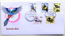 FIRST DAY COVER CELEBRATING AUSTRALIAN BIRDS - 1980 - IN EXCELLENT CONDITION