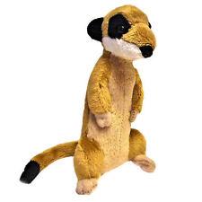 14cm Meerkat Cute Small Soft Toy Animal - 0+ Years - Birthday Gift