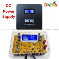 DC 2A 10A Adjustable Step Down Step UP Power Supply Module LCD Dual Display+Case