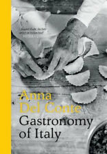 NEW Gastronomy of Italy [Revised Edition] By Anna Del Conte Hardcover