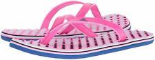 Women Adidas EEzay Flip Flop Sandal CG3552 Pink Royal 100% Authentic New In Bag