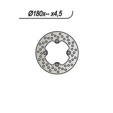 DISCO FRENO ANT. NG 1017 06/08 BOMBARDIER-CAN AM OUTLANDER XT H.O. EFI 800 65.91