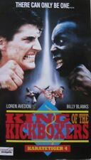 KING OF THE KICKBOXERS - KARATETIGER 4 -  VHS
