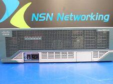 Cisco 3845 CISCO3845 V01 Router w/ 2x NM-HD-2V High Density Voice 1x NM-1FE2W-V2