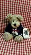 Boyds Breezy T. Frostman - 9� Bear in Snowman Sweater #91522