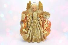 Engel Doris Mit Wachskopf von der Firma Eggl Rauschgoldengel