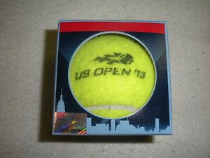 2013 US Open Match-Used Men's and Women's Tennis Balls - USTA Serves