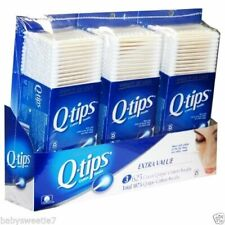 Q-tips Cotton Swabs Club Pack 625 counts Pack of 3 New in Box