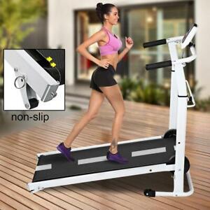 Multi slope Folding  Treadmill Running Walking Jogging Machine Exercise Fitness