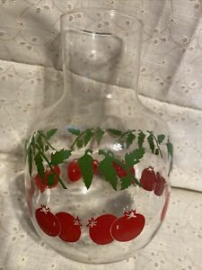 Tomato Juice Carafe Jar Container Glass Mid-Century Modern Unique Libby's