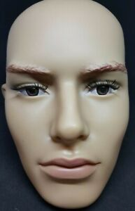 Male head for displaying full body mannequins, Life size realistic face head- N4