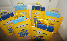 Cotillon, sacchetti dei regali giallo per feste e party