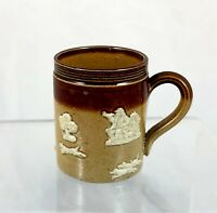 VERY MINIATURE DOULTON TANKARD SIGNED MD *** 3.8 CM HIGH ***