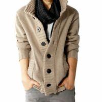 New Fashion Mens Stylish Net Knit Cardigan Sweater Jumper Blazer Coat Top US HOT