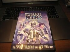 Doctor Who The Moonbase Story No. 33 Dvd 2014 Patrick Troughton