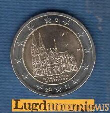 2 euro Commémo - Allemagne 2011 Cathédrale de Cologne F Stuttgart Germany