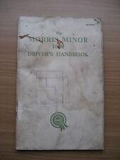 GENUINE MORRIS MINOR 1000 Drivers Handbook Part No AKD680M