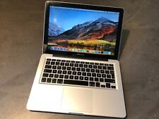 Apple MacBook Pro 13 Core i5 2.4 4GB RAM 500 GB HDD High Sierra A1278