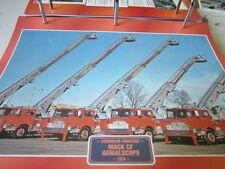 Super Trucks Feuerwehr USA MACK CF Aerialscope 1974 Feuerwehrleiter