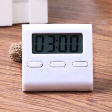 LCD Digital Kurzzeitmesser Küchenuhr Kurzzeitwecker Eieruhr-Timer Magnet Timer N