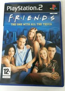 Friends The One With All The Trivia Sony PlayStation 2 PS2 FREE P&P