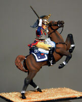 Painted Tin Toy Soldier Cavalryman of the 6 Cuirassier Regiment #2 54mm 1/32