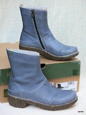 El Naturalista Women's Vaquero N137 Ankle Boots Cornflower Blue 37 Wore Once