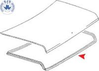 Dichtung Kofferraum Heckdeckel Kofferraumdichtung Seal für BMW E28 Dichtung NEU