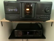 Sony CDP-CX220 And STR-DE505 With Remotes