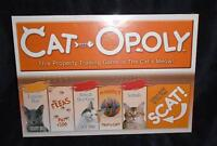 Cat-Opoly Monopoly Cats Board Game by Late for the Sky Brand New Factory Sealed