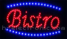 DEL Panneau Bistrot Cafe Publicité Bar panneaux Neon x Hell collation animation clignotant