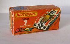Repro Box Matchbox Superfast Nr. 7 Hairy Hustler Streaker