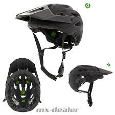 2021 ONeal Pike IPX Solid Schwarz Grau Fahrrad Helm All Mountain Bike Trail MTB