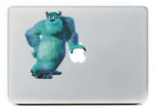 Macbook 13 inch decal sticker Monster's Inc. Sully Waving art for Apple Laptop