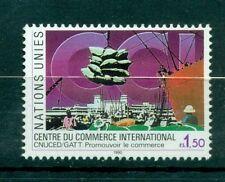 """Nations Unies Géneve  1990 - Michel n.182 - """"Centre du Commerce International"""""""