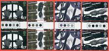 1976 SG. 1001-1004 Reformers Traffic Light Gutter Pair
