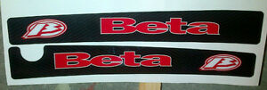 Beta Rev 3 Carbon Effect Swinging Arm Decals  Moto-X quality thick trials decals