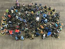 Huge mixed DC Heroclix lot of 90 Superman Wonder Woman Batman +