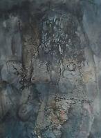 Signiert Geza datiert 85 - Abstrakte Komposition weiblicher Akt ?