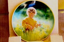 "Collector plate Knowles china,""A Time For Peace"",1989 Honoring the march of dime"