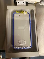New Heyday Cell Phone Case iPhone 6 7 8 Blue Clear (Quc006398)