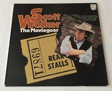 SCOTT WALKER~THE MOVIEGOER~1972 UK 12-TRACK VINYL LP RECORD~PHILIPS 6308 127