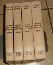 Force's Tracts North American Colonies Volume 1-4 Hardcovers
