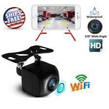 150°WiFi Wireless Car Rear View Cam Backup Reverse Camera For Android ios Iphone