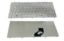 Teclado Blanco para Acer Emachines 355 350 eM350 NAV51, GATEWAY Mini LT21 LT2100