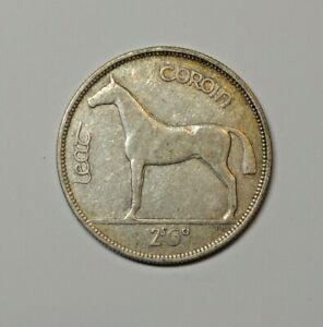IRELAND: IRISH SILVER  HALF CROWN  1934.  KM 8