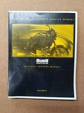 Buell Motorcycles 2001 M2/M2L Cyclone Service Manual P/N 99491-01Y