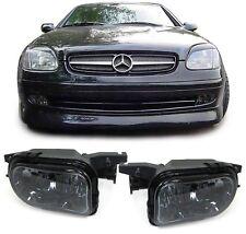 Klarglas Nebelscheinwerfer schwarz smoke für Mercedes W203 CL203 C209 SLK R170