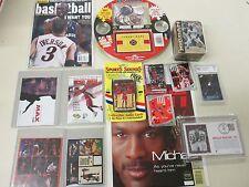 Micheal Jordan Collector 14 Lot Postcard,Sticker,Graded,Gift Set,Over $150 value
