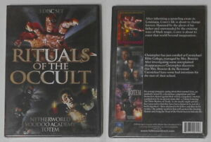 Rituals Of the Occult: Netherworld, Voodoo Academy, Totem sealed U.S. 3 dvd